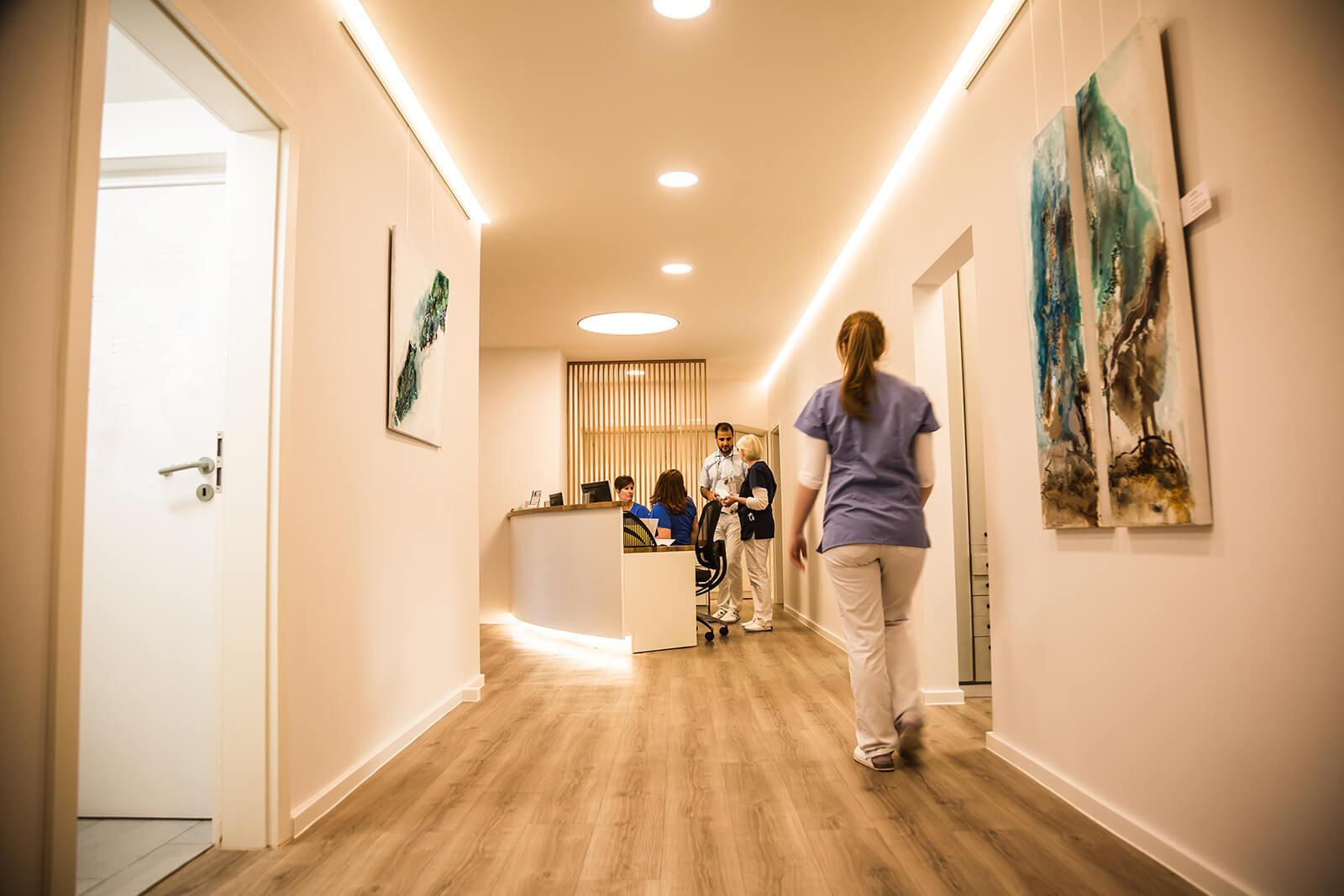 Zahnarzt DocMo Oldenburg_Empfang